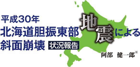平成30年北海道胆振東部地震による斜面崩壊状況報告