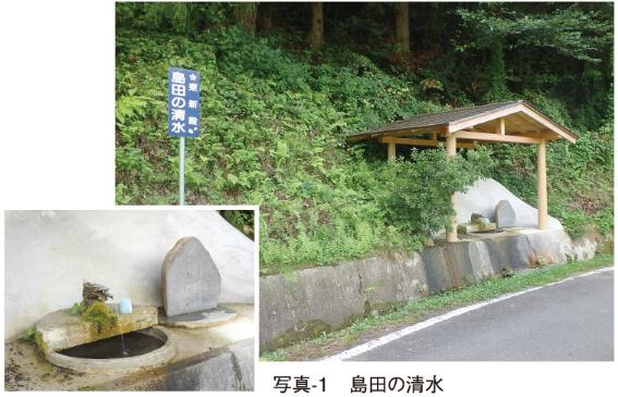 写真-1 島田の清水